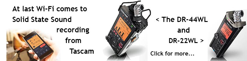 Tascam Wi-Fi Recorders