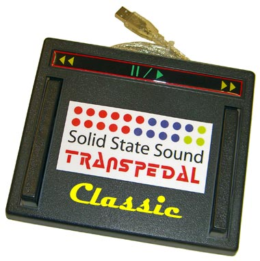 Solid State Sound TransPedal-Classic Transcription Footpedal