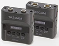Tascam DR-10CS Lapel Radio Microphone Recorder, small
