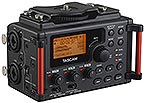Tascam DR-60DMKII Portable DSLR Audio Field Recorder, small