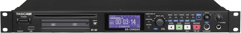 Tascam SS-CDR200 CF/SD/USB & CD Recorder, small