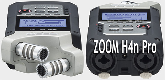 Zoom H4n Pro Portable 4-Track Audio Recorder, page header